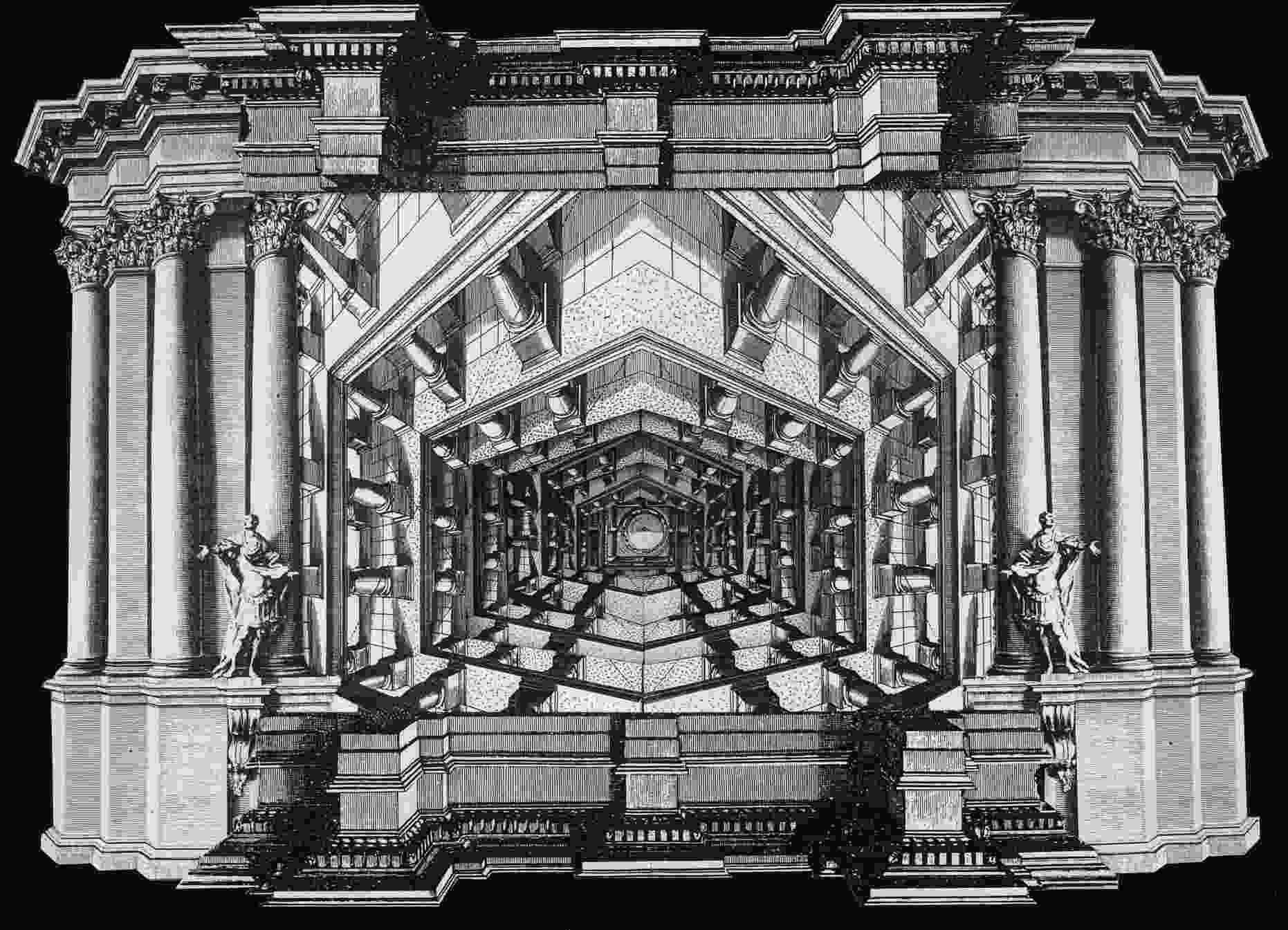 Ceiling with Perspective No. 1
