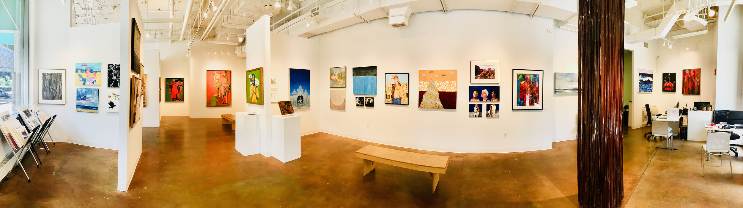 July 2018, Gallery A view at Touchstone Gallery. Photo by  Ryan Feipel