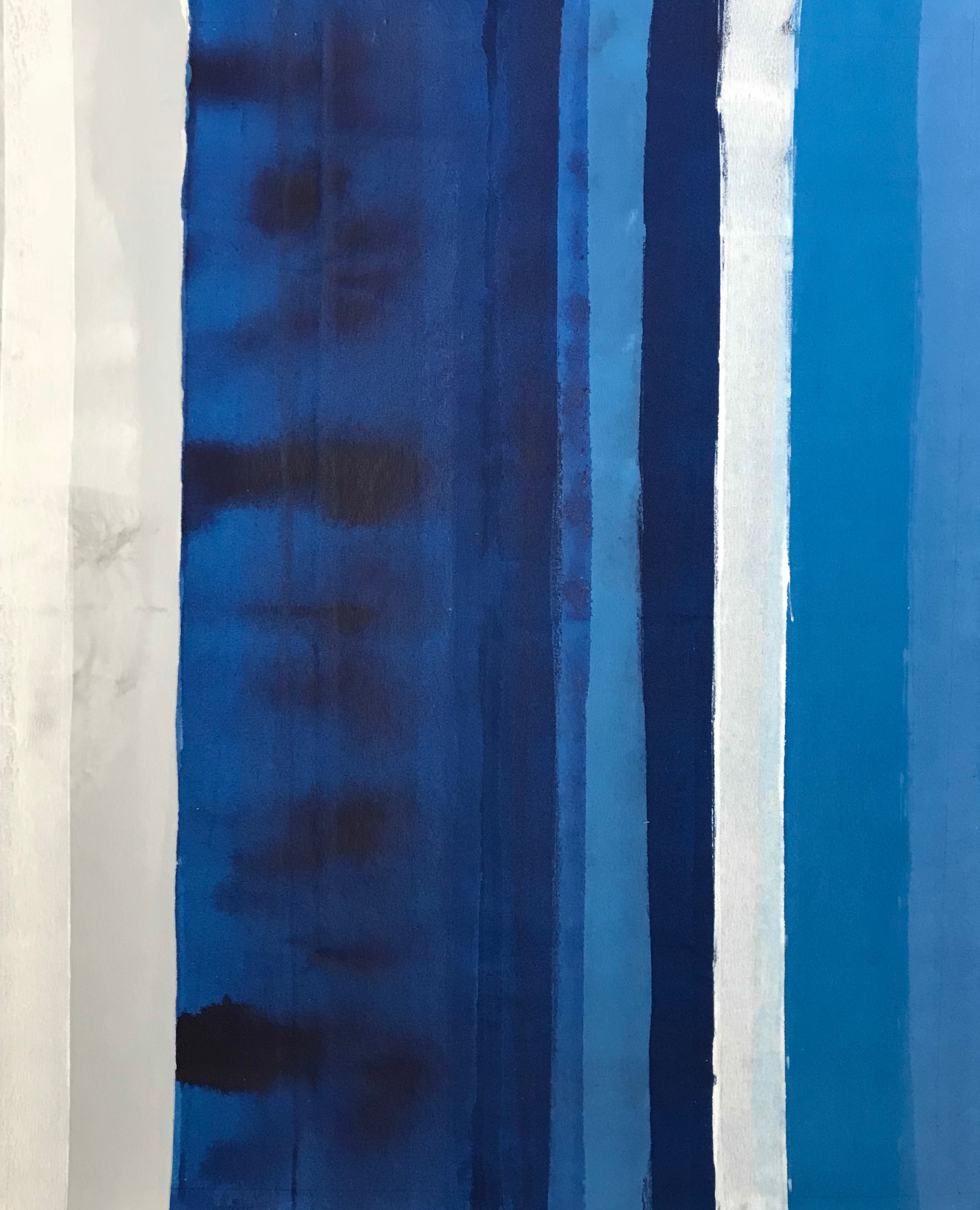 Anse de Petit Jean, Acrylic on canvas, 35 x 28 x 1.75 in.