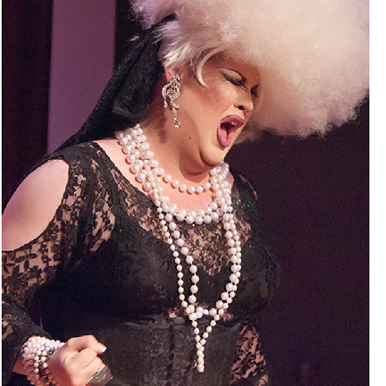 Drag Queen with Pearls