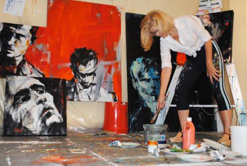 Inside Leslie Nolan's Studio