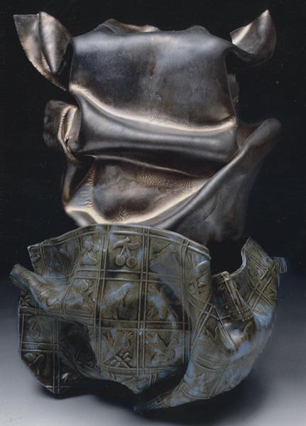 Incognito, Ceramic, 21 x 15 inches