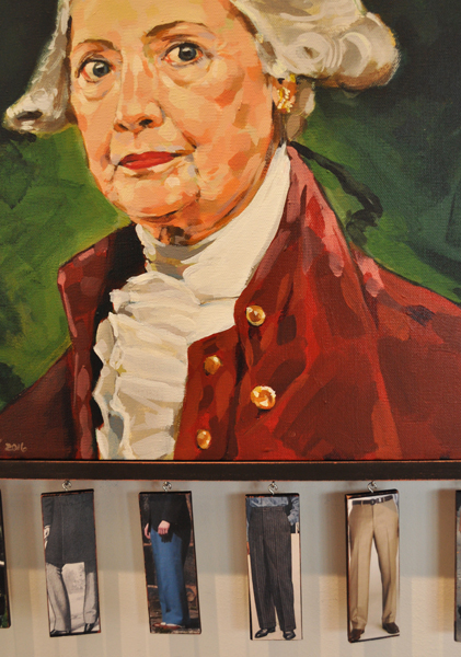 1st to 45th Pantaloons to Pantsuit by Timothy Johnson (detail)