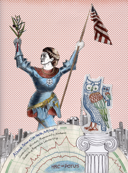 Athena Hillary Campaigns by Rosemary Luckett