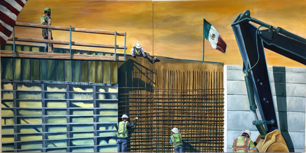 The Wall by Augustine Chavez