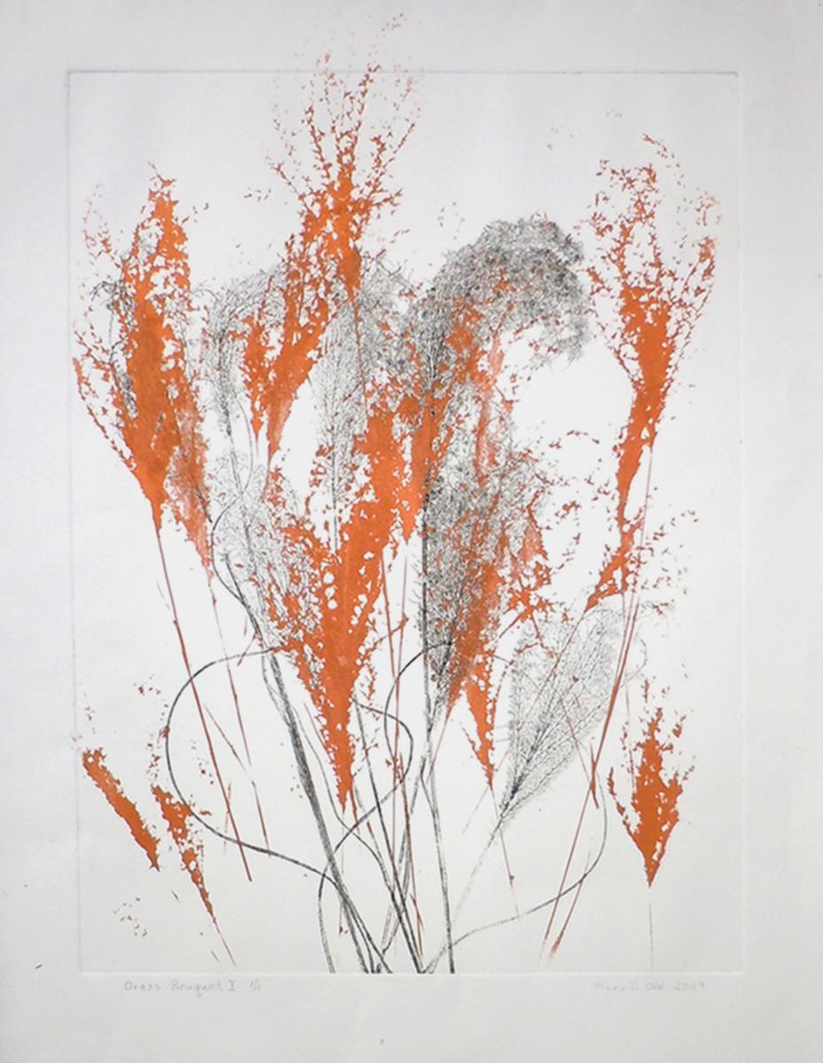 Grass Bouquet VI, copper