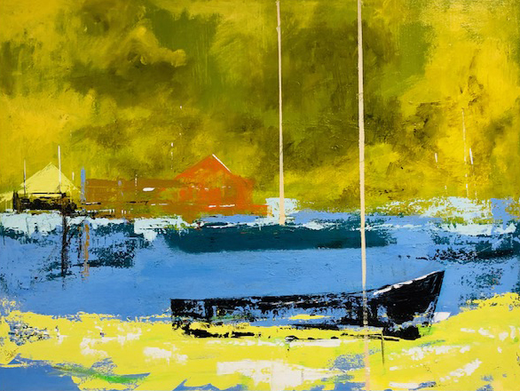 Colleen Sabo,  Dock of the Bay