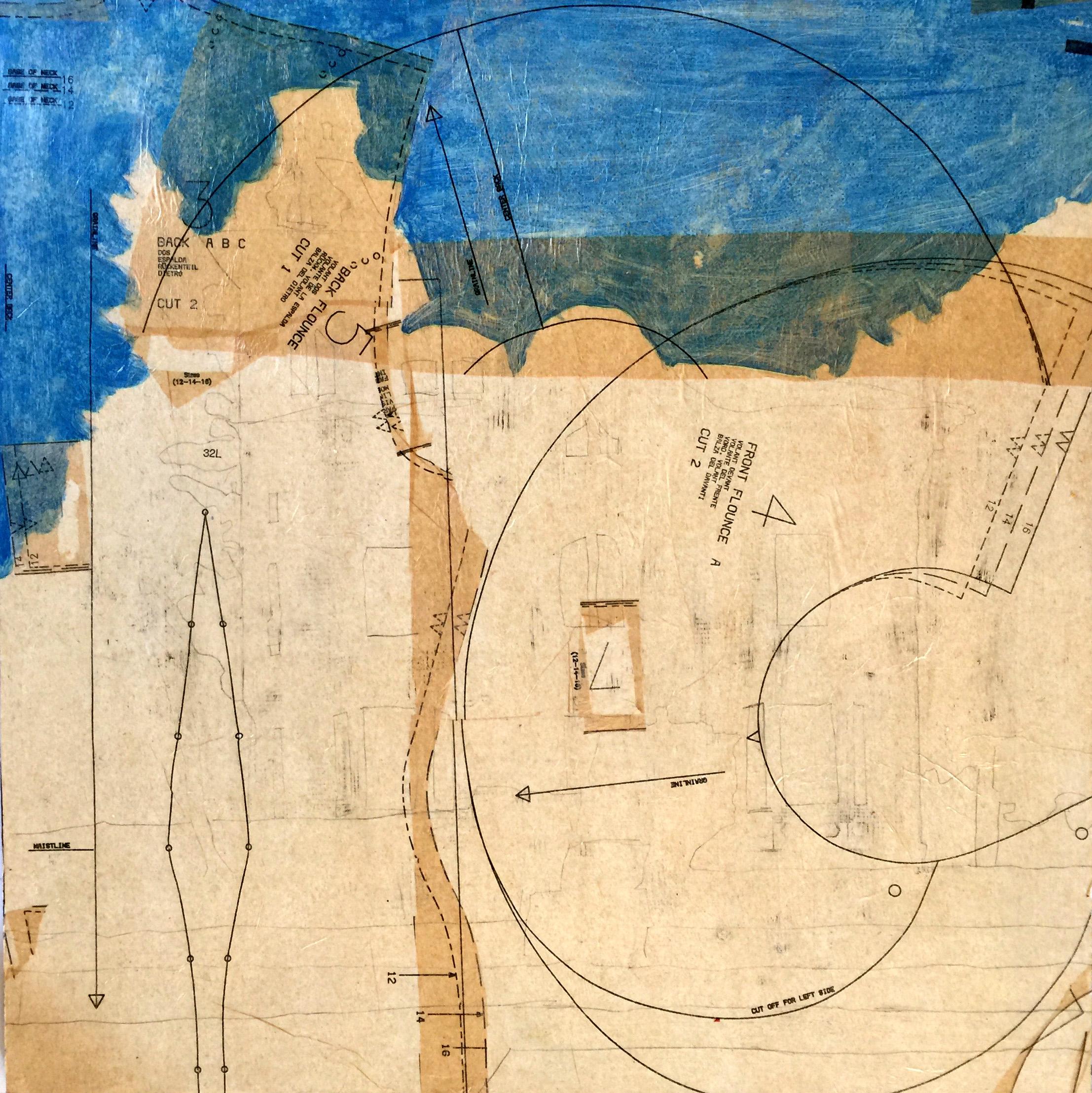 Tirocchi Collage Blue