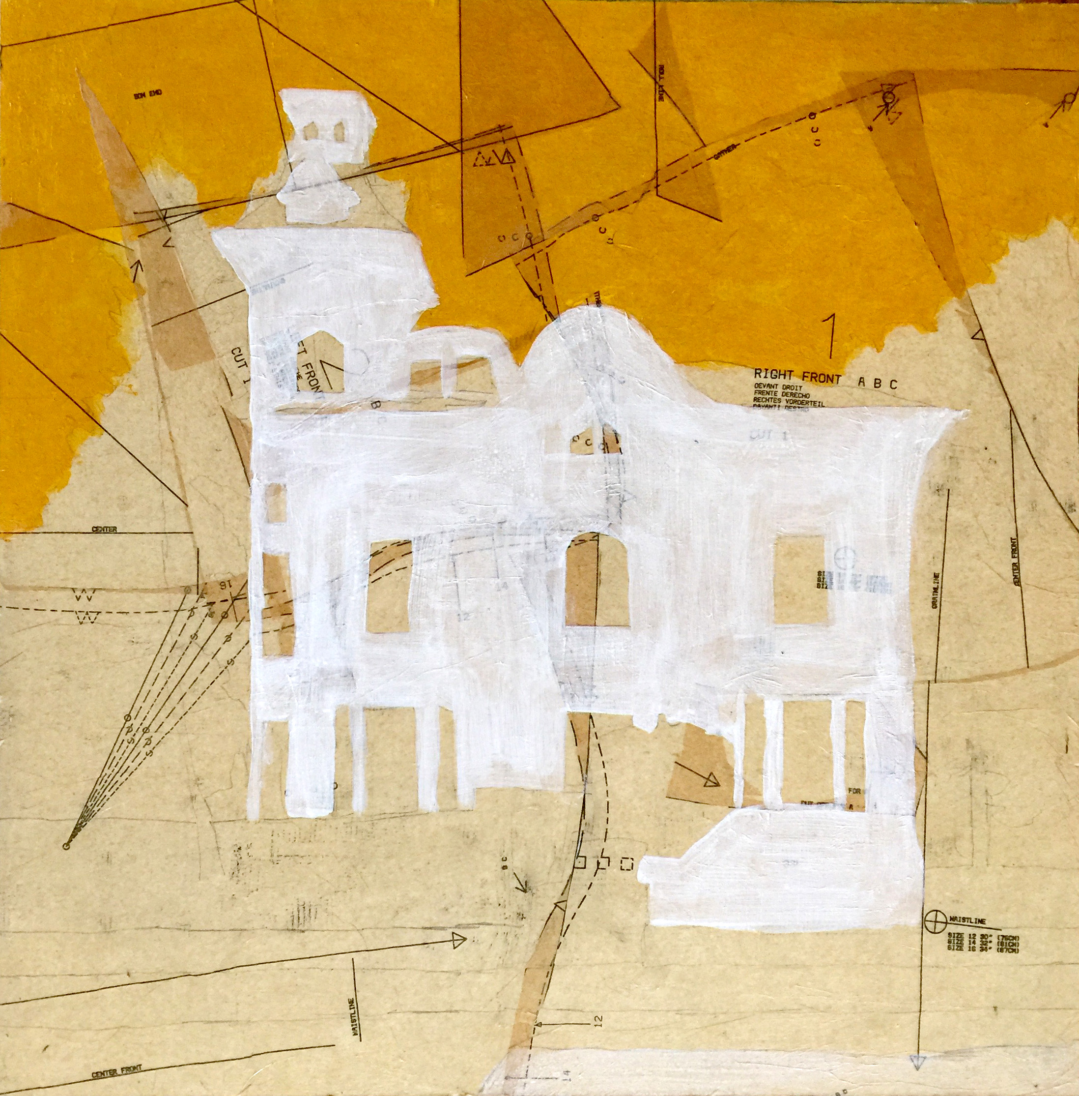 Tirocchi Collage Yellow