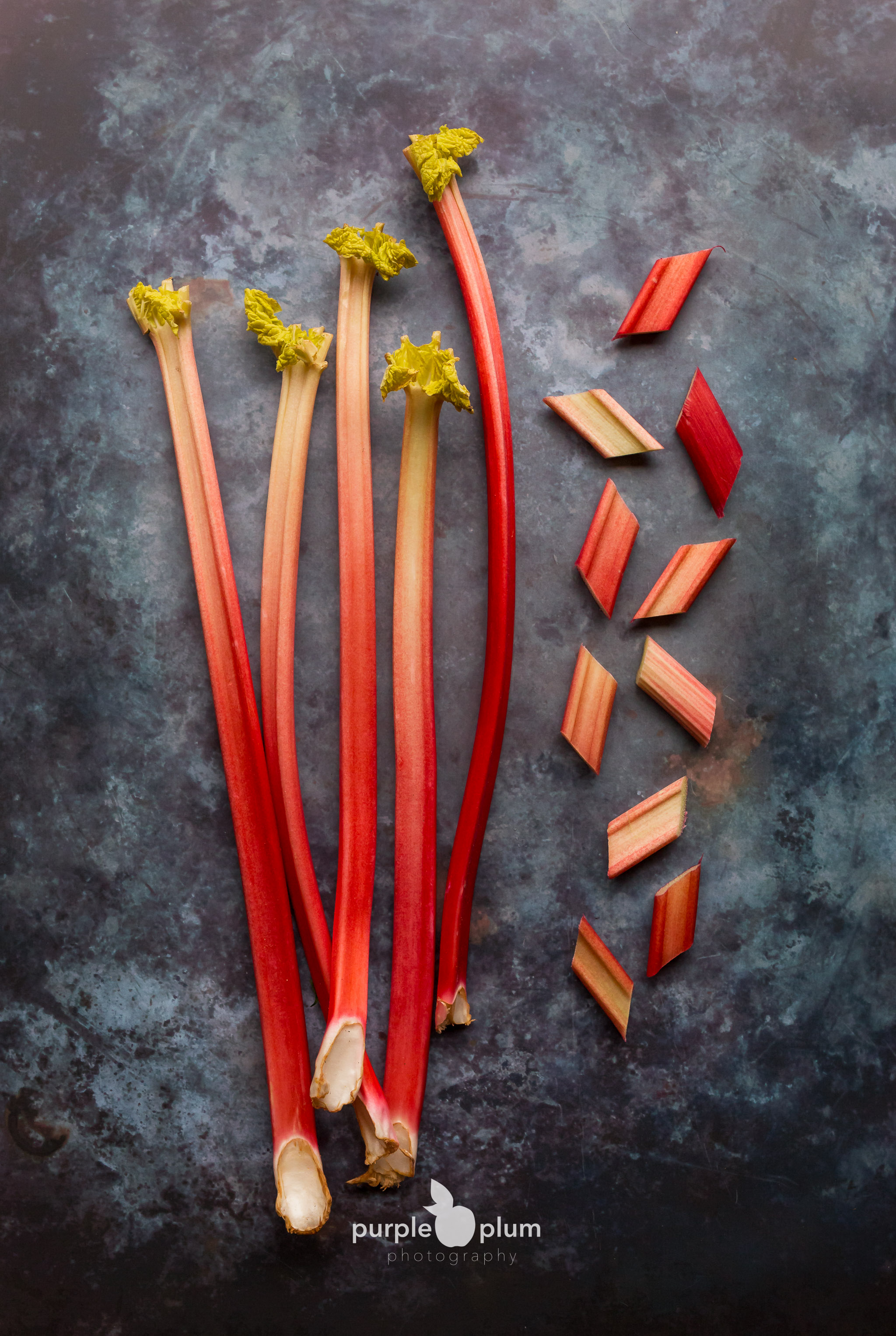 Rhubarb from the 'Forcing Sheds' of the Rhubarb Triangle of West Yorkshire