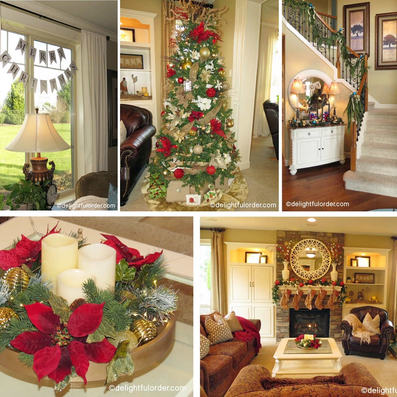 2014 Christmas Decor Home Tour
