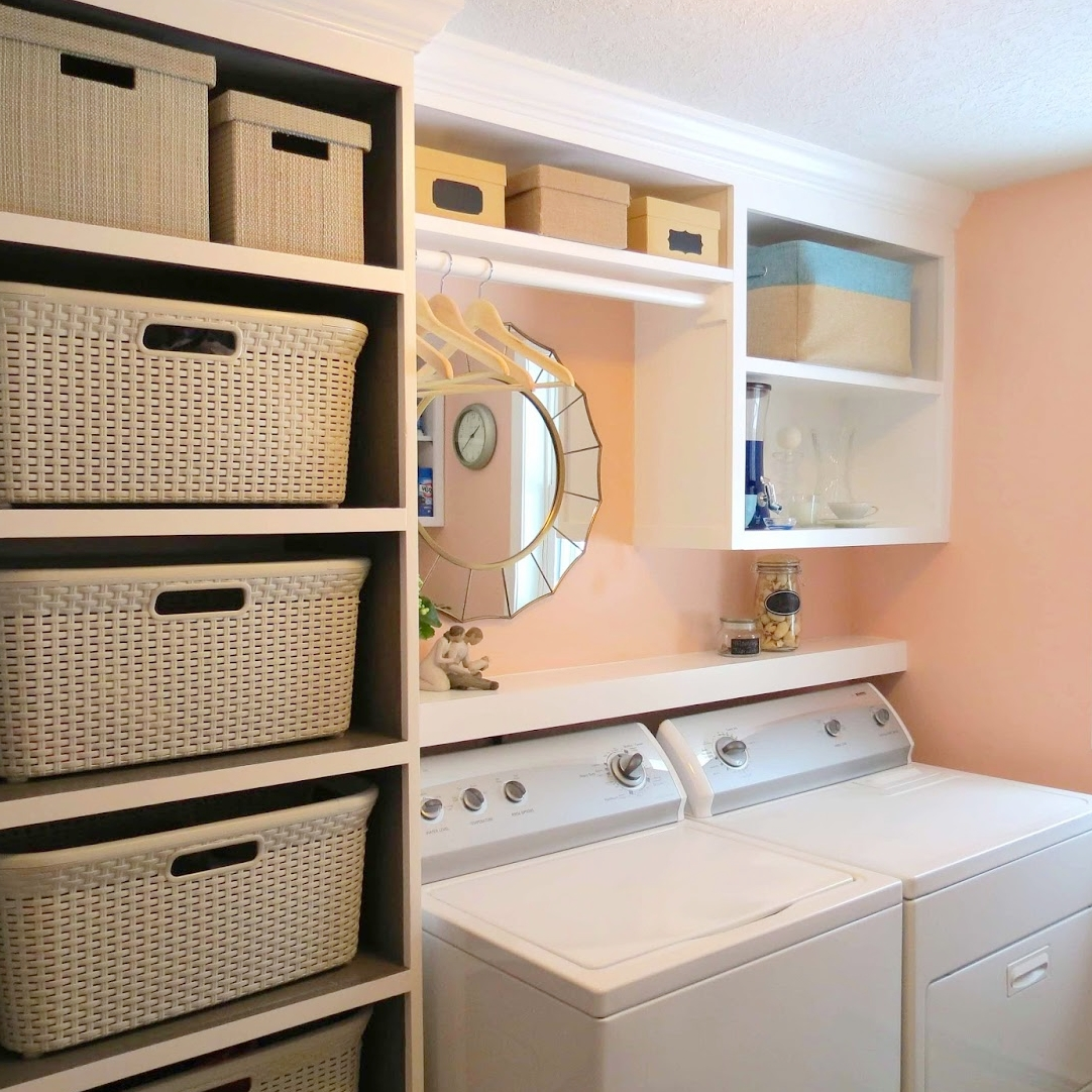 July Challenge: Laundry Rooms