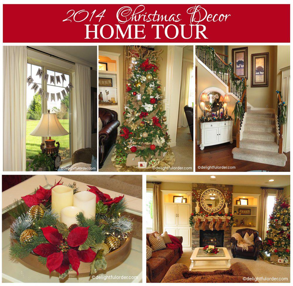 2014 Christmas Decor Home Tour
