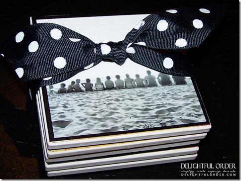 Photo Coaster Gift Idea