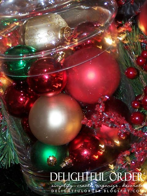 Glass Jar Christmas Decor