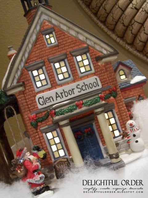 Christmas Snow Village