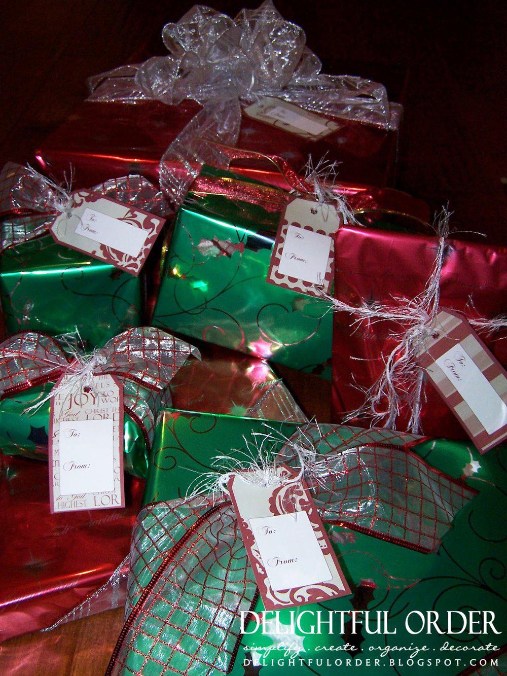 Christmas Wrapping Tags