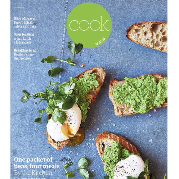 Guardian Cook - One packet of peas, four meals