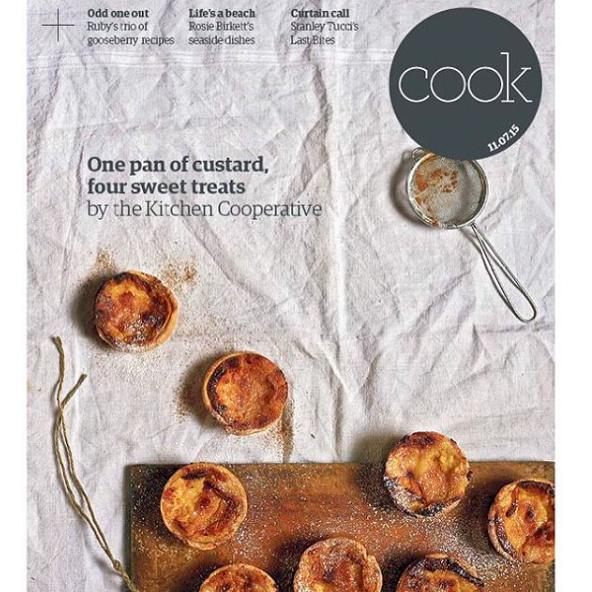 Guardian Cook - One pan of custard, four sweet treats