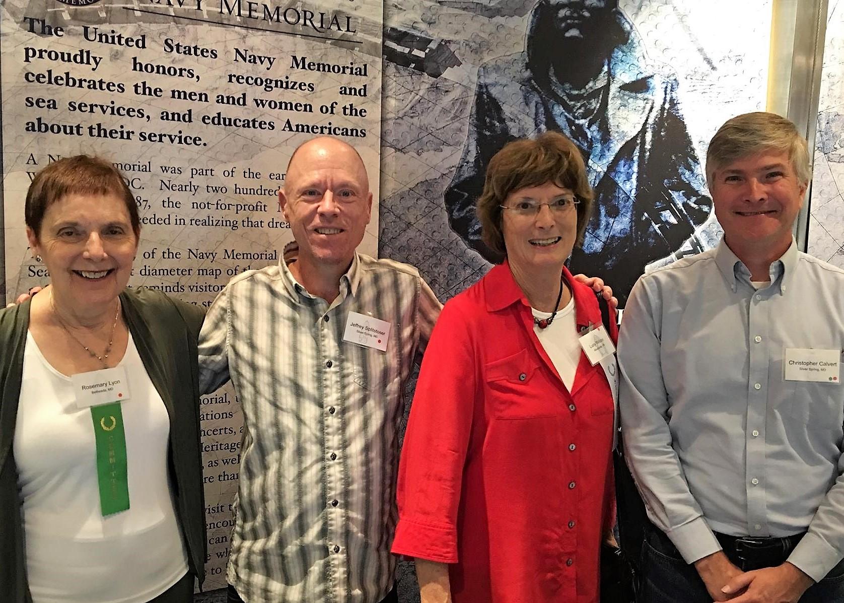Rosemary Lyon, Jeff Splitstoser, moi, Chris Calvert.jpg