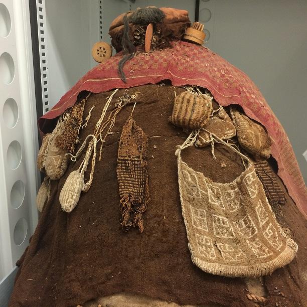 Paracas mummy bundle from Ancón