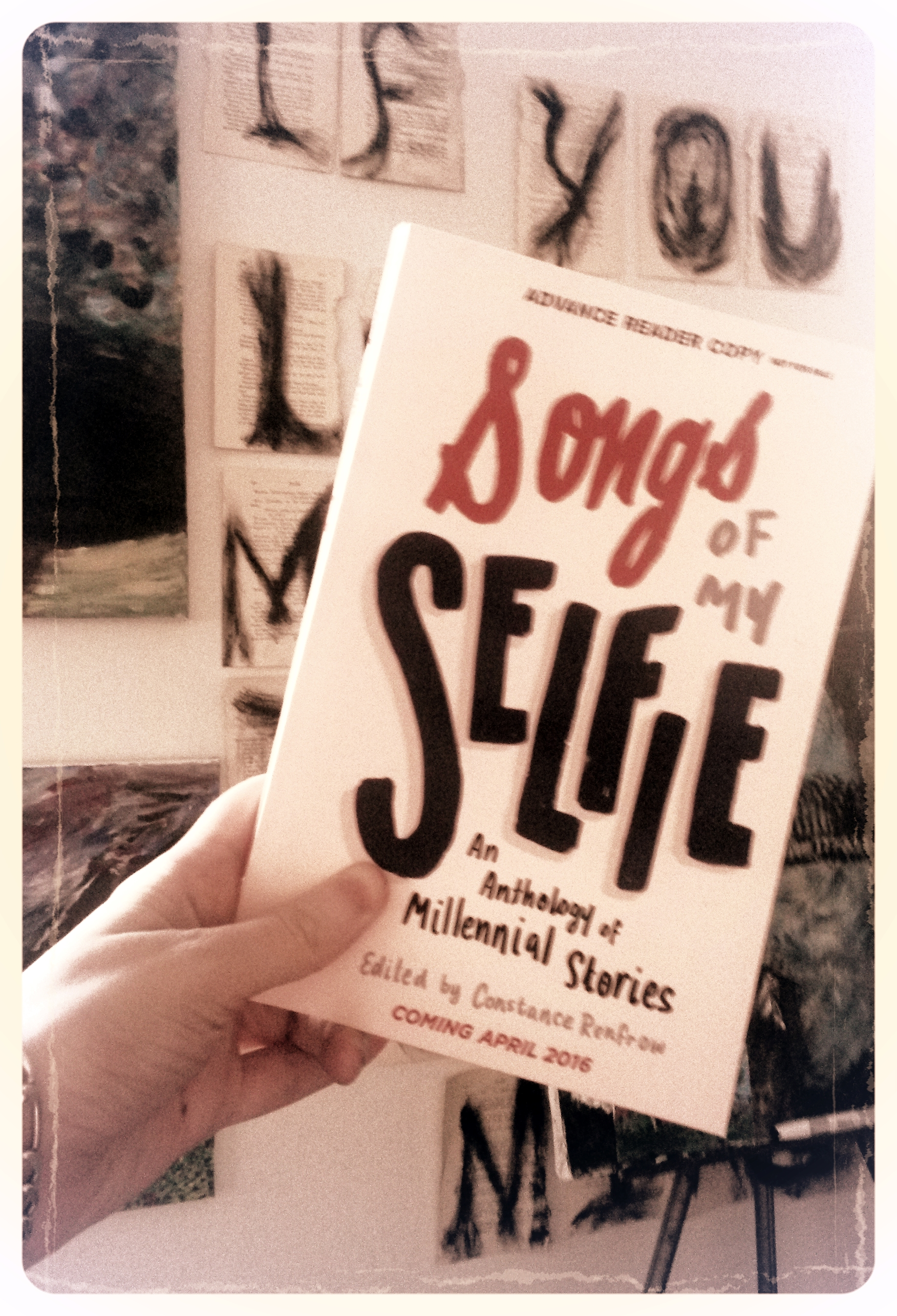 You too could have a shiny new copy of SONGS OF MY SELFIE.