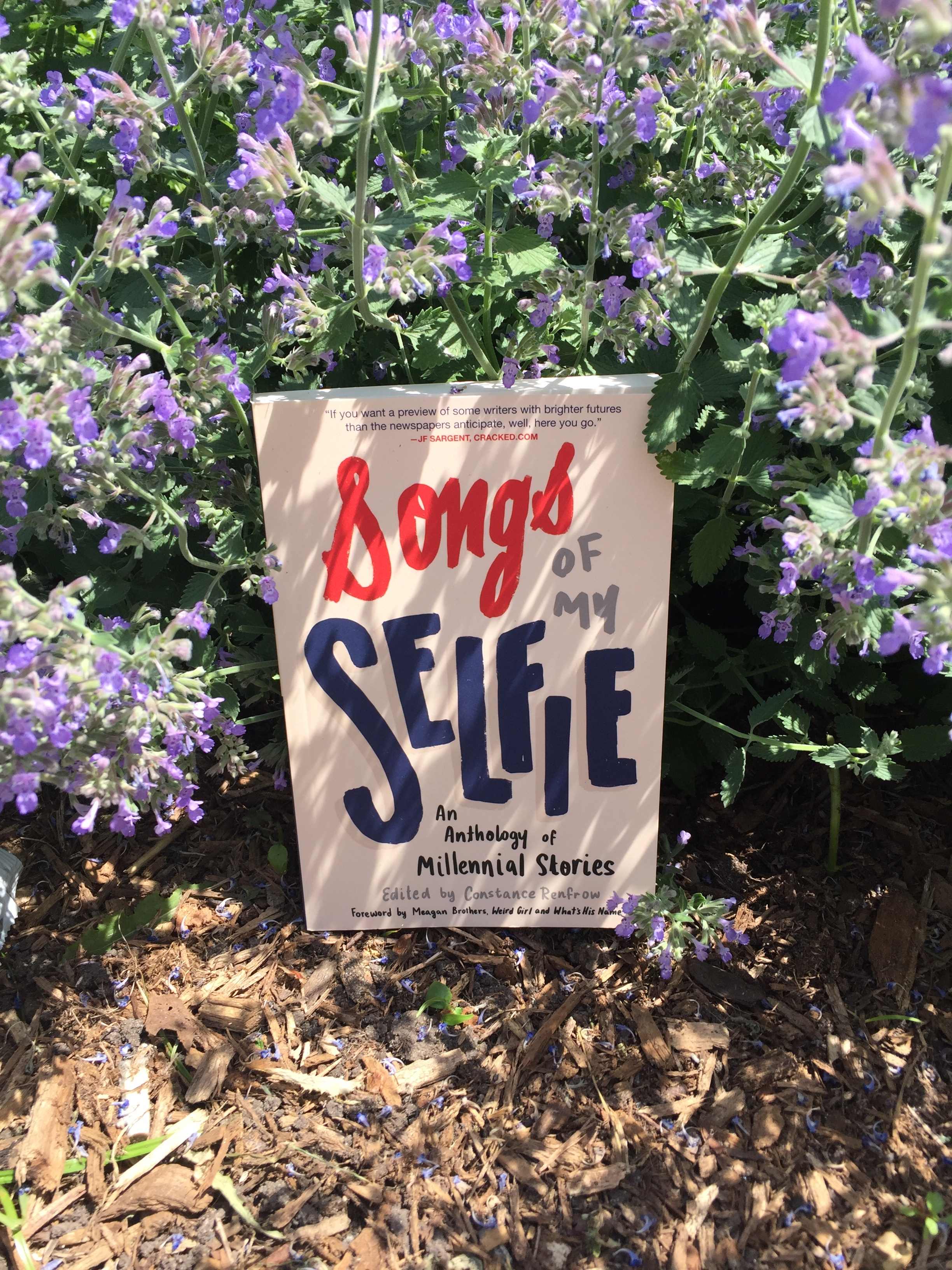 You can read Songs of My Selfie on a plane, in a train, on a beach, in the garden. . . . Endless possibilities!