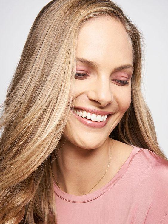 Pink monochromatic makeup