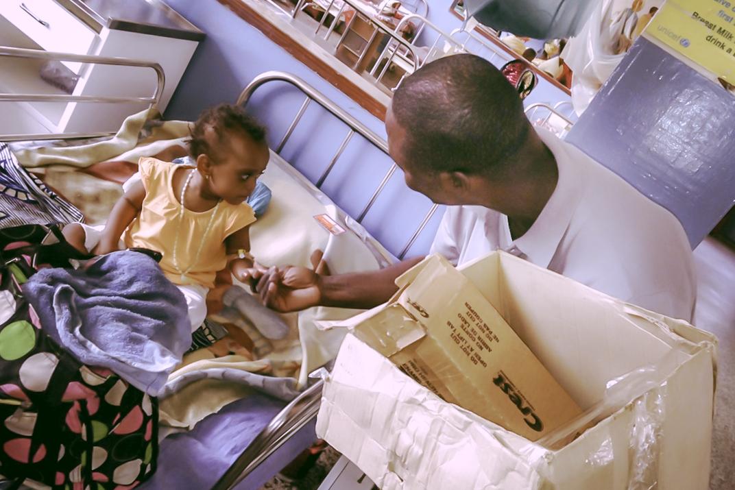 Bobby Connaught Hospital Girl | Hope for Lives in Sierra Leone