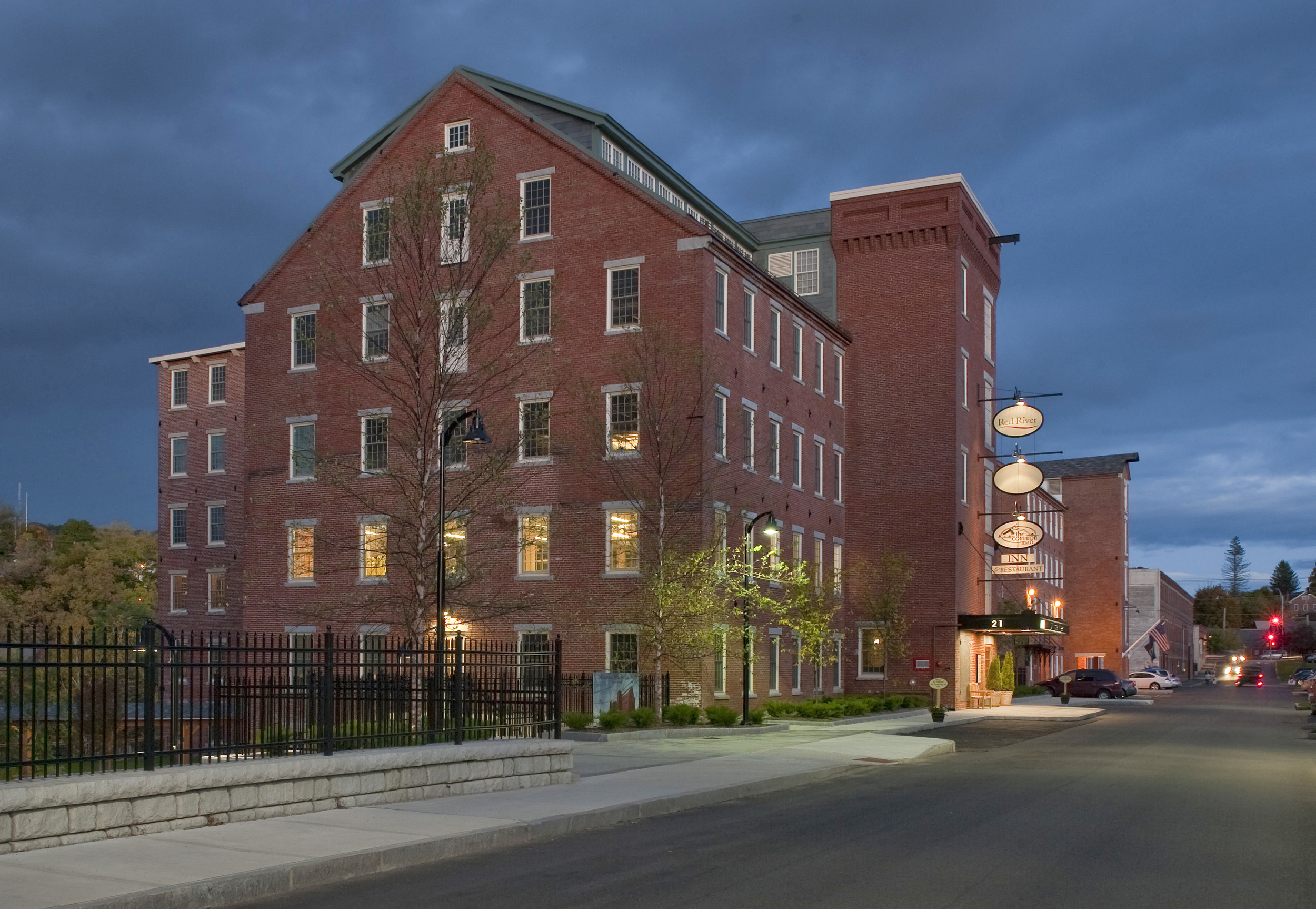 This award-winning project consists of two mill buildings built in 1853 and 1912, which form one structure and are considered to be the most important buildings in Claremont, New Hampshire's historic mill district.