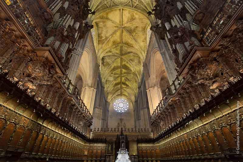 Seville, Spain: Cathedral interior. Photo: Gustavo Kralj/Gaudiumpress.com