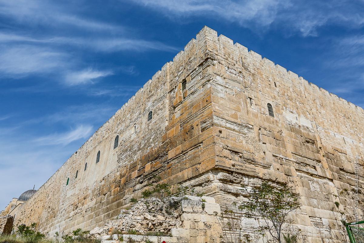 TIerra Santa: Murallas de la Ciudad de Jerusalem. Foto: Gustavo Kralj/Gaudiumpress