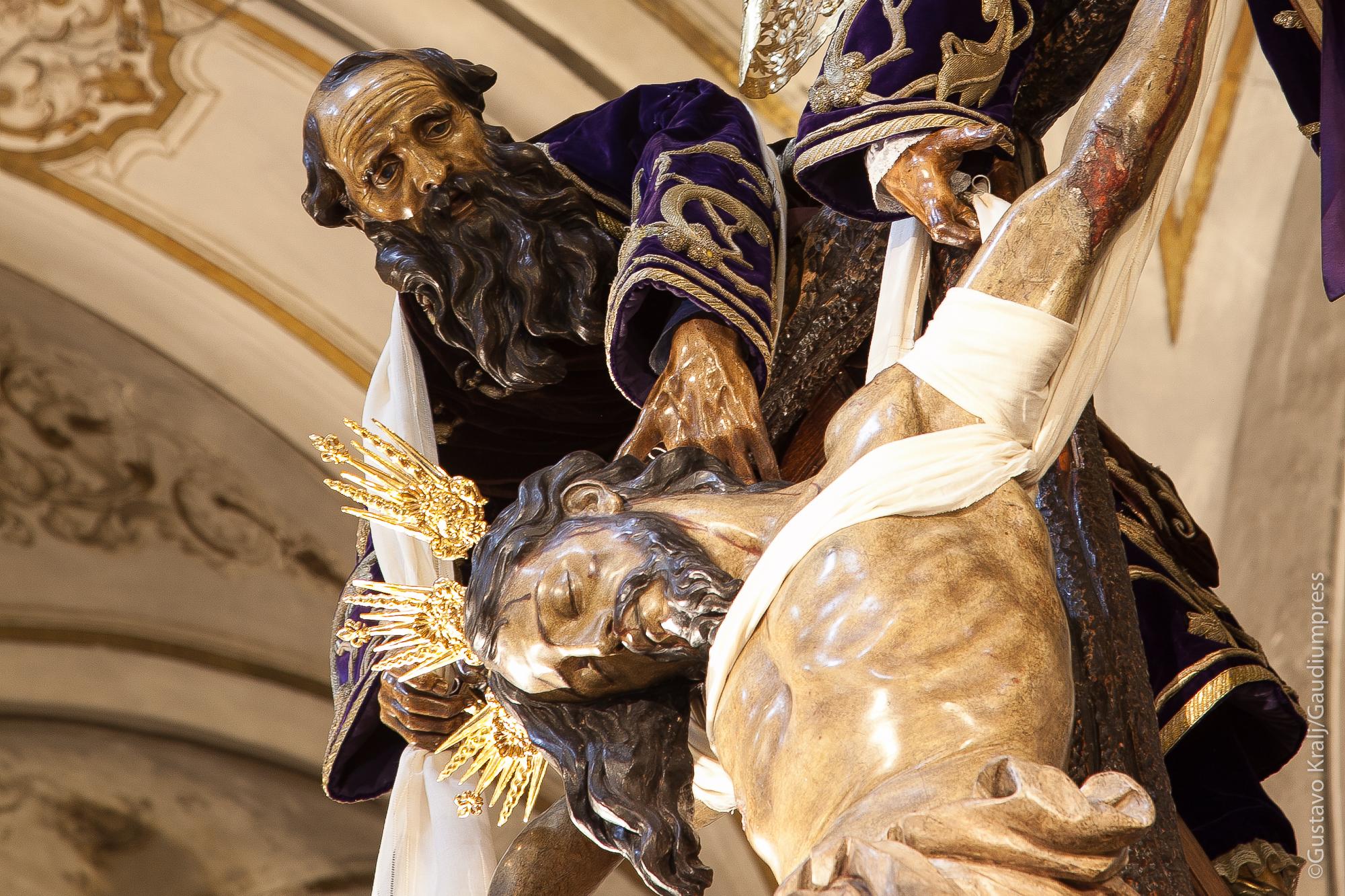Sevilla, España: Nicodemo en el descenso de la Cruz. Foto: Gustavo Kralj/Gaudiumpress
