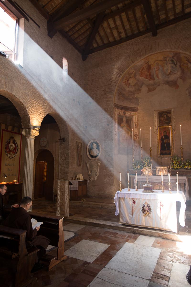 St Benedetto in Piscinula, Romea. Foto: Gustavo Kralj/Gaudiumpress