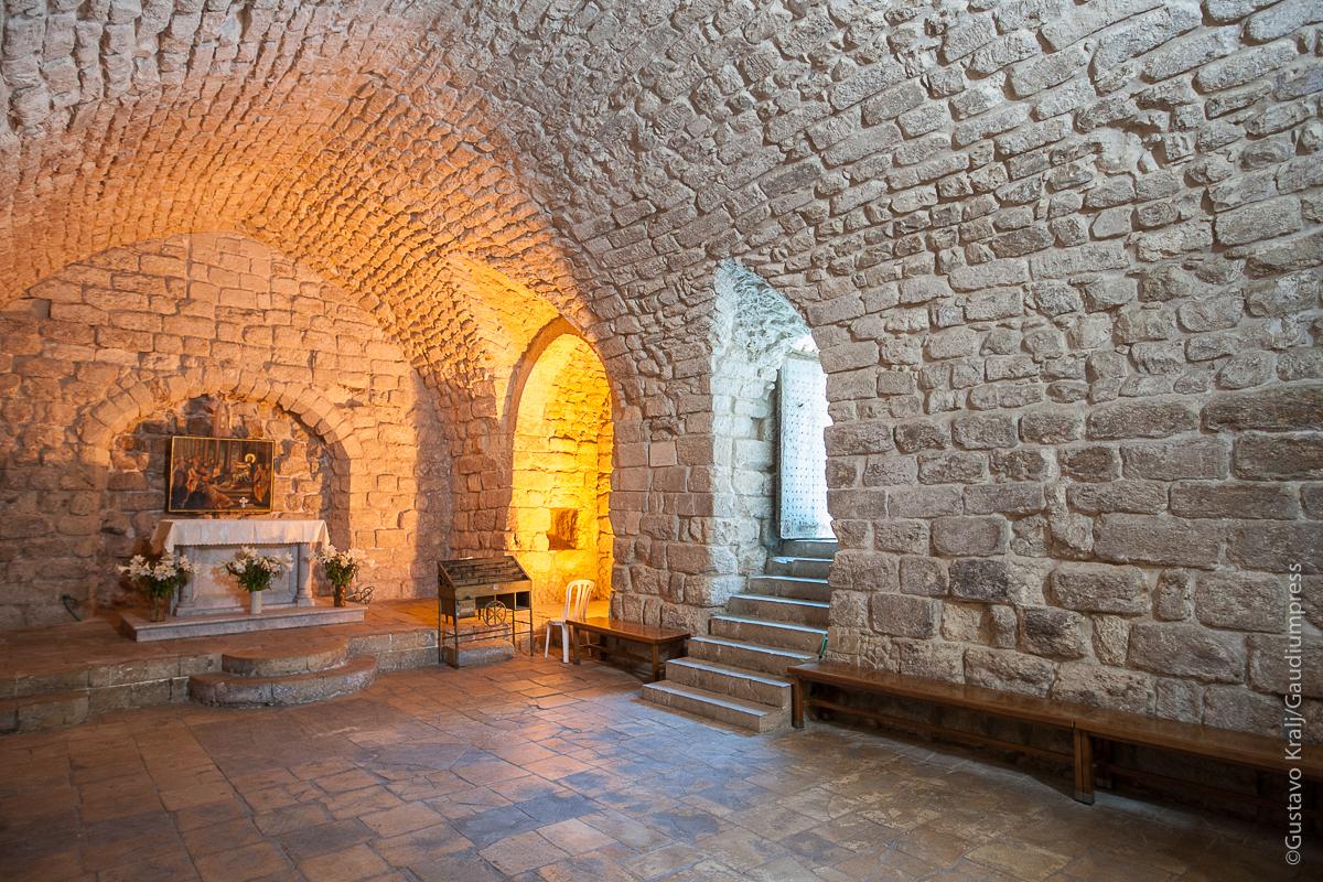 TierraSanta: SInagoga de Nazareth donde Jesús predicó. Foto: Gustavo Kralj/Gaudiumpress