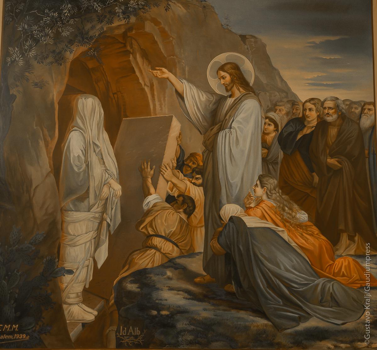 Resurrección de Lázaro - Convento de Hermanas de San Vicente de Paul. Bethania, Tierra Santa - Foto: Gustavo Kralj/Gaudiumpress