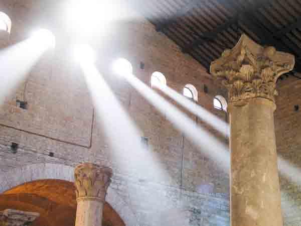 Catacumbas de Domitila. (Foto: Revista Heraldos del Evangelio)