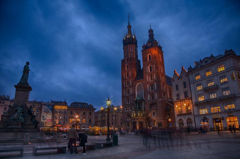 Basílica de Santa María de Cracovia, Polonia. Foto: Gustavo Kralj/GaudiumpressImages.com
