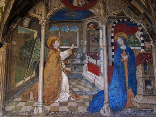 Sublime cuadro de la Anunciación, de Mazzone