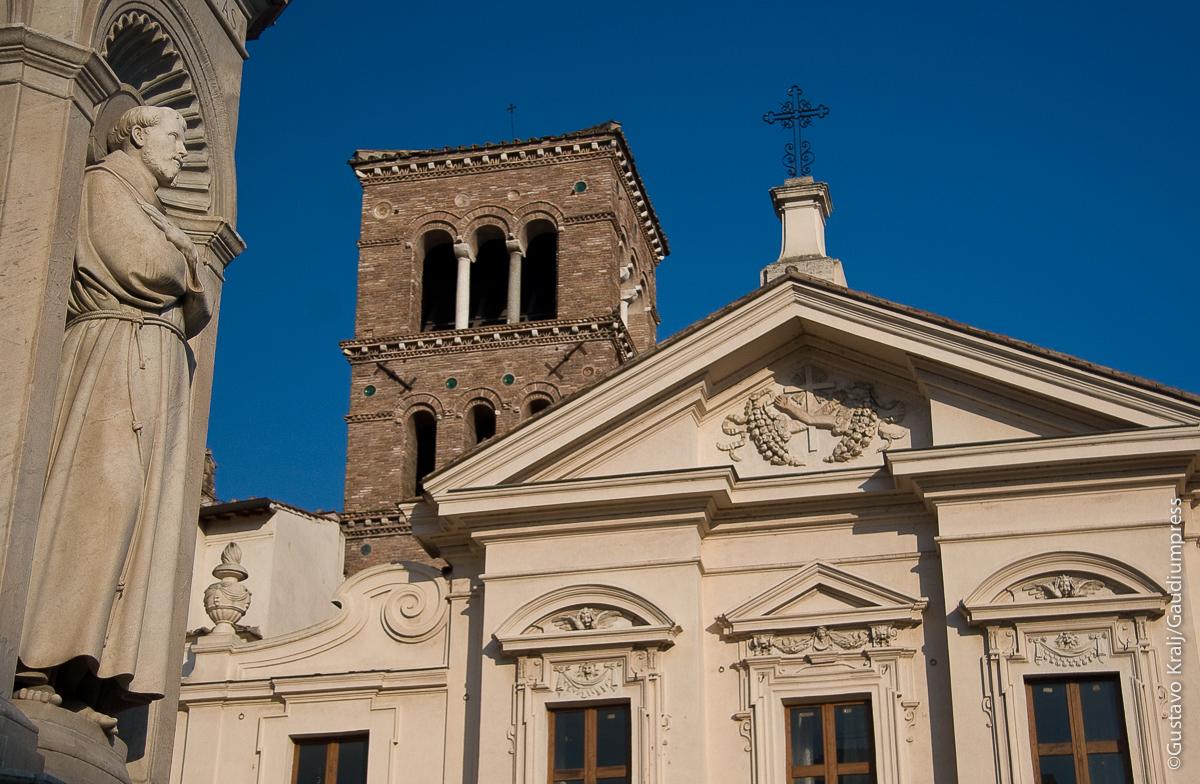 San Francisco de Asis. Basilica de San Bartolomé. Isola Tiberina, Roma. Foto: Gustavo Kralj/Gaudiumpressimages.com