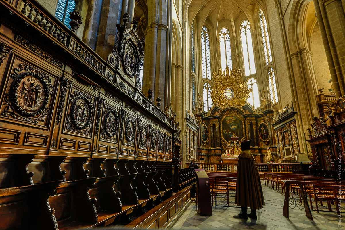 Basilica de St Maximien, Francia. Foto: Gustavo kralj/GaudiumpressImages.com