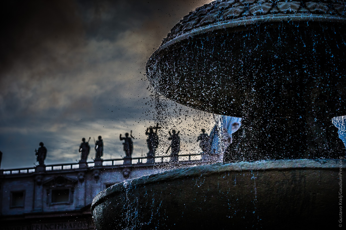 Roma: Plaza San Pedro. Foto: Gustavo Kralj/GaudiumpressImages.com