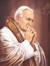 """La Iglesia tiene necesidad de un especial """"poder desde lo alto"""" (cf. Lc 24, 49), don ciertamente del Espíritu del Señor  San Juan Pablo II - Santuario de Jasna Gora (Polonia)"""