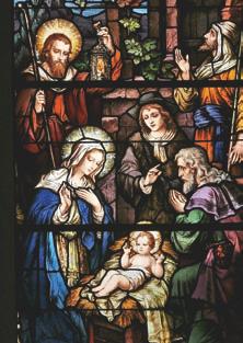 La adoración de los pastores - Monasterio de Nuestra  Señora del Monte Carmelo y San José, Brooklyn (EE. UU.)