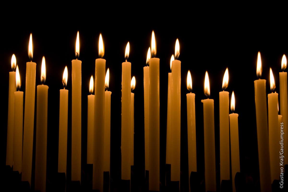 candlessan luigi dei francesi churchRoma