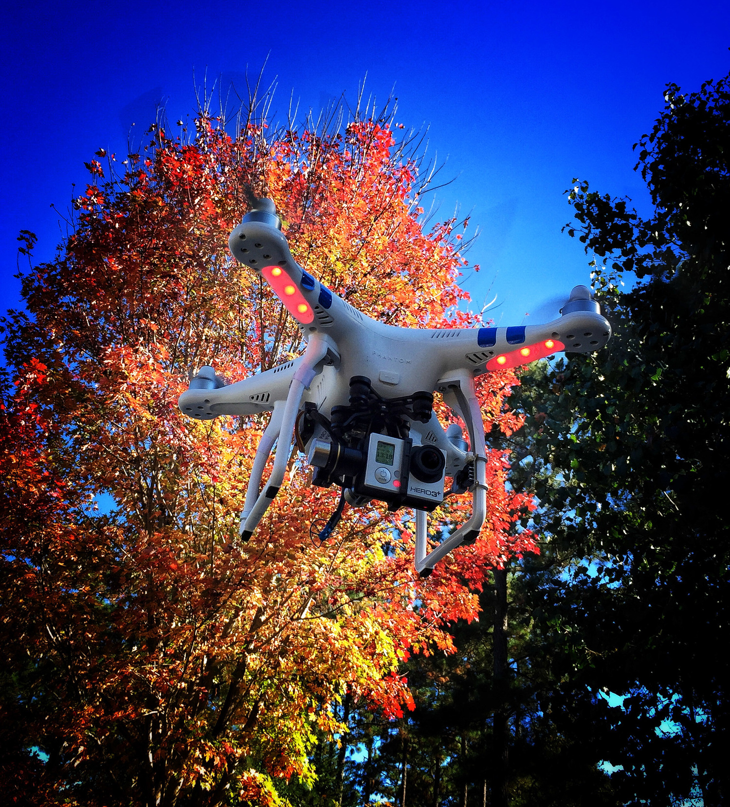 The DJI Phantom has enjoyed a dominant presence of what we consider to be a camera-drone.  Though, sometimes that PR has backfired.