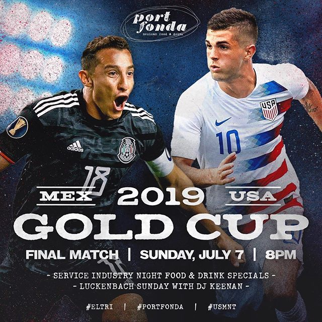 and... sunday night action w @miseleccionmx y @usmnt #goldcup2019