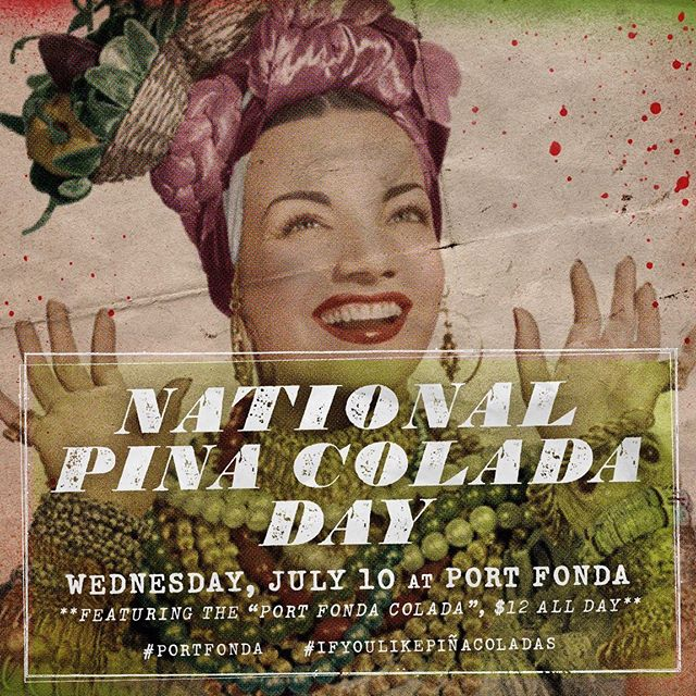 oh, my! #portfonda #nationalpinacoladaday
