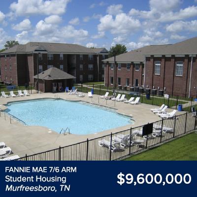 Fannie Mae Student Housing Murfreesboro, TN