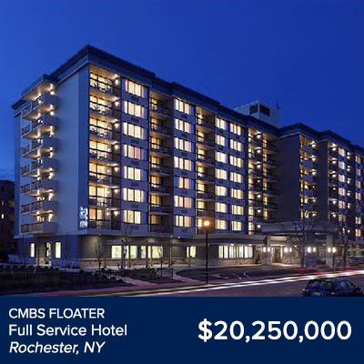 CMBS Floater Full Service Hotel Rochester, NY